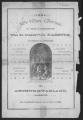 1891 New Year's Greeting to St Clairsville Gazette Patrons